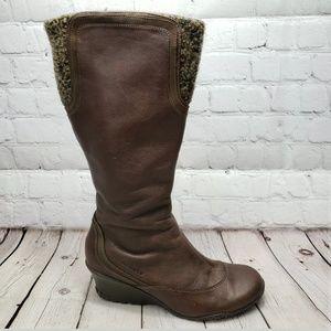 Merrell Larkspur Boots Womens 8 Zip Up Shoes